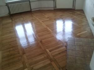 Wycyklinowana podłoga