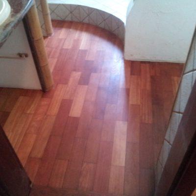 Podłoga łazienkowa